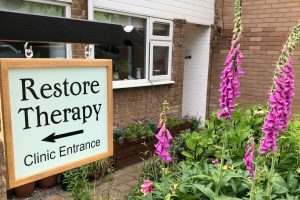 Restore Therapy Clinic Sign